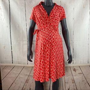 Motherhood Maternity orange dress